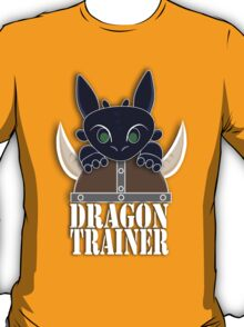 Dragon Trainer Tee (With Text) T-Shirt