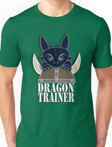 Dragon Trainer Tee (With Text) Unisex T-Shirt