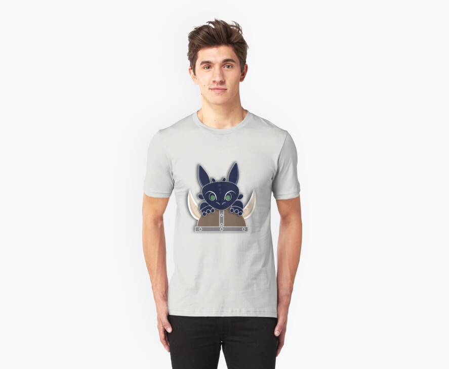 Dragon Trainer Tee (No Text) by thisisbrooke
