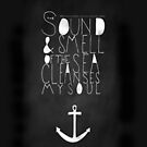 The Sound & Smell of the Sea Cleanses My Soul - iPhone Case  by sullat04