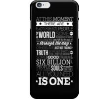 One Tree Hill Quote - iPhone Case  iPhone Case/Skin