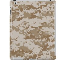 Camouflage - Digital Desert iPad Case/Skin