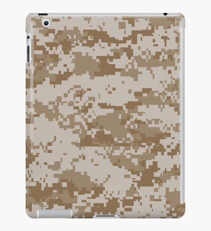Camouflage - Digital Desert iPad Case/Skin