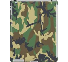 Camouflage - Woodland iPad iPad Case/Skin