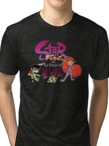 Starfire Vs the forces of evil Tri-blend T-Shirt