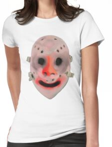Hockey Mask Womens Fitted T-Shirt