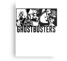 Ghostbusters Comic Book Style Metal Print