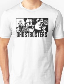 Ghostbusters Comic Book Style T-Shirt