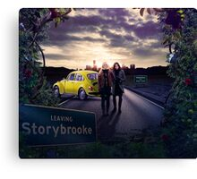 Once Upon A Time (SwanQueen) Canvas Print