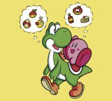 Yoshi and Kirby by Jack-O-Lantern