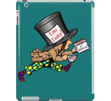 "Mad Hatter:   ""Cruz is crazier than Trump! iPad Case/Skin"