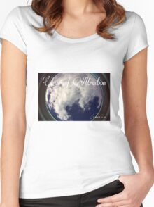 Law of Attraction Women's Fitted Scoop T-Shirt