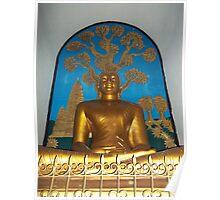 Buddha, World Peace Stupa, Pokhara Poster