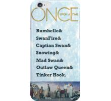 Once Upon a Time Ships iPhone Case/Skin