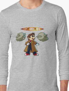 Doctor Mario Long Sleeve T-Shirt