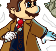 Doctor Mario Sticker