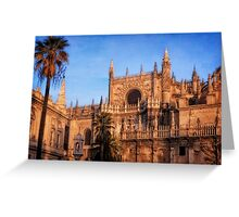 Seville Cathedral Morning Light Greeting Card