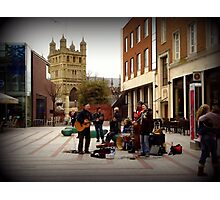 Happy Street Music Photographic Print