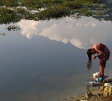 Life By The Lake - Phewa Tal by wiggyofipswich