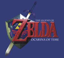 Ocarina of Time Revamped Logo by Jack-O-Lantern