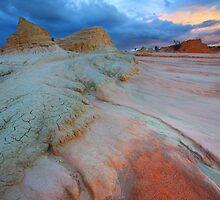 Storm V's Sunset by David  Hibberd