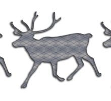 Reindeer Jumper Sticker