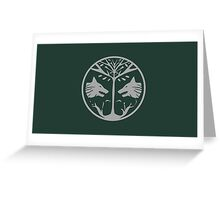 The Iron Banner Emblem Greeting Card
