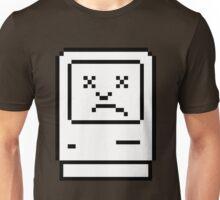 Sad Mac 2 (dark background) Unisex T-Shirt