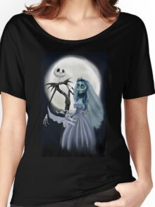 Tim burton mash up Women's Relaxed Fit T-Shirt