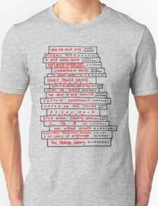 Haruki Murakami Book Fan T-Shirt