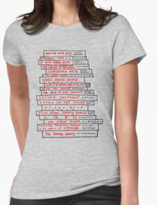 Haruki Murakami Book Fan Womens Fitted T-Shirt