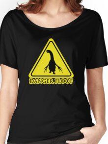 "Therizinosaurus ""Danger Floof"" Women's Relaxed Fit T-Shirt"