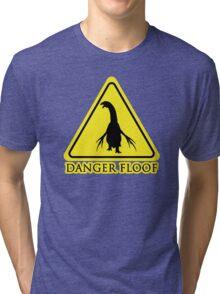 "Therizinosaurus ""Danger Floof"" Tri-blend T-Shirt"