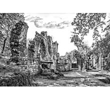 Garden Of Ruins Photographic Print
