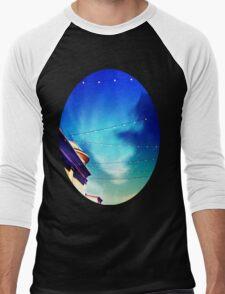 Blue Skies Men's Baseball ¾ T-Shirt