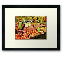 City Meets Country Framed Print