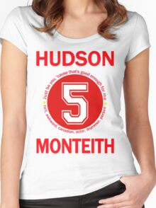Cory Monteith Women's Fitted Scoop T-Shirt