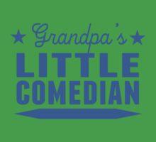 Grandpa's Little Comedian Kids Tee