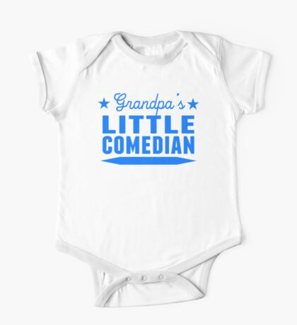 Grandpa's Little Comedian One Piece - Short Sleeve