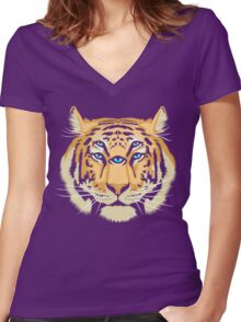 Spirit Guide Women's Fitted V-Neck T-Shirt