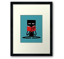 Enderman Self improvement Framed Print