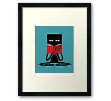 Enderman Self improvement Framed Print
