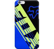Savant blue black iPhone Case/Skin