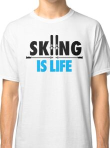 Skiing is life Classic T-Shirt