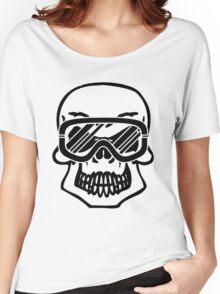 Winter skull Women's Relaxed Fit T-Shirt