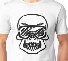 Winter skull Unisex T-Shirt