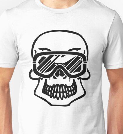 Winter skull Unisex T-Shirt