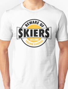 Be aware of skiers selling yellow slurpees T-Shirt