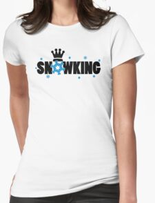 Snowking Womens Fitted T-Shirt