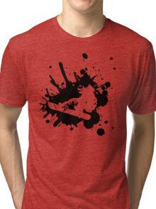 Snowboarder Style Tri-blend T-Shirt
